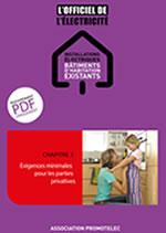 Exigences minimales pour les parties privatives - chapitre 3 de L'Officiel Bâtiments d'habitation existants