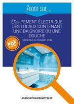 Zoom Équipement électrique salle de bain