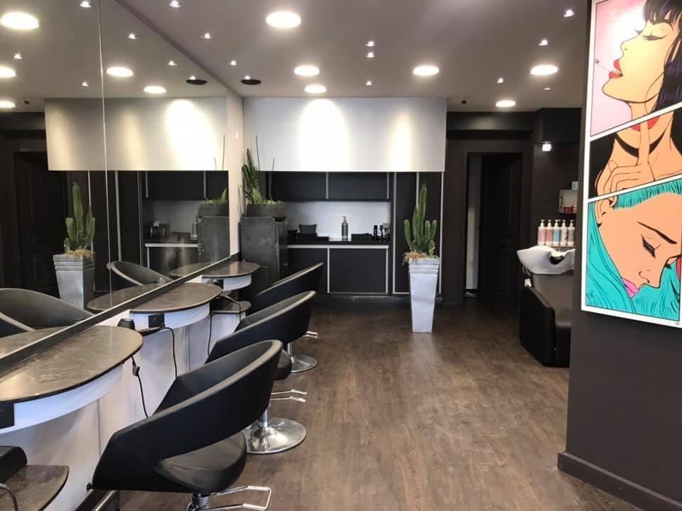Salon de coiffure - © ESPACEELEC – (Territoire de Belfort)